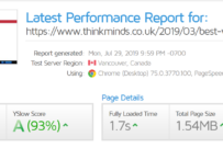 kk Star Ratings Plugin Review – Page Speed Performance with Activated/Deactivated states
