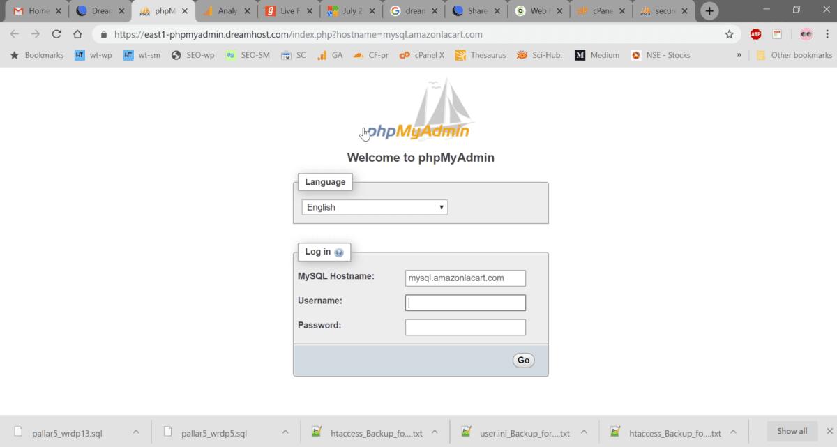 migrate wordpress to new host
