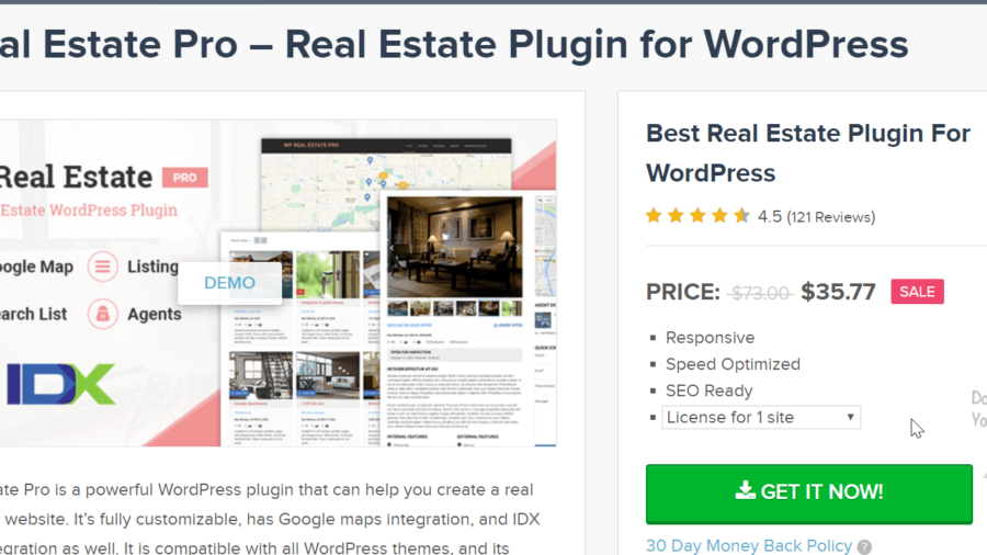 The Best #1 Real Estate Plugin in 2020 – Complete Review