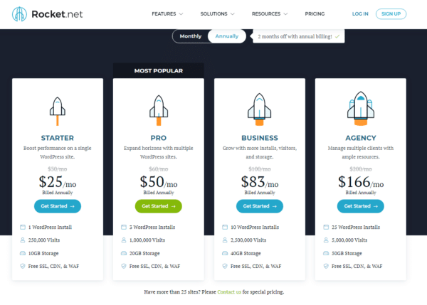 best managed wordpress hosting plans and pricing