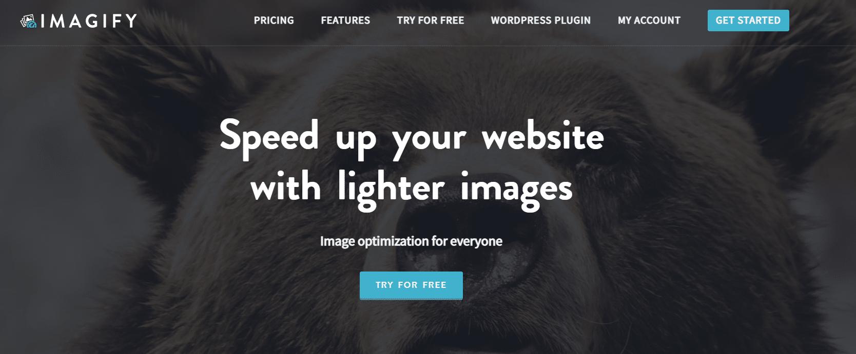 website image compression